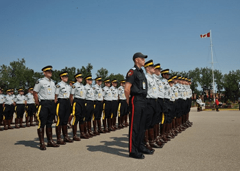 RCMP Sgt Major's Parade